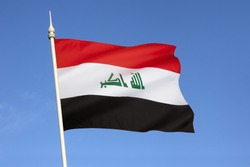 Flag of Iraq. In January 2008, a new design for the flag was confirmed. The parliament intended that the new design last for one year. However, the flag was adopted by parliament in April 2009.