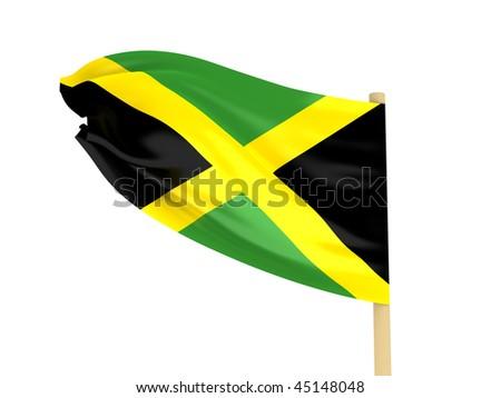 jamaican flag pole - photo #49