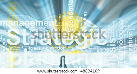 Flag of Kazakhstan, national country symbol illustration wavy business strategic planning