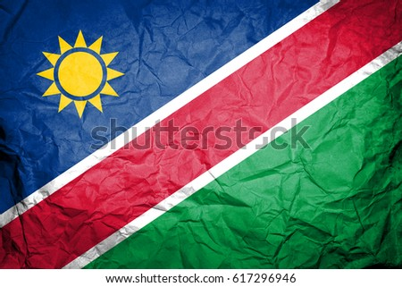 Flag of Namibia #617296946