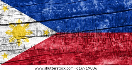 Flag of Philippines #616919036