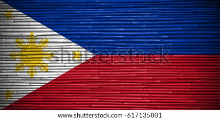 Flag of Philippines #617135801
