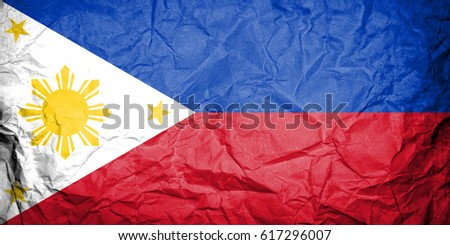 Flag of Philippines #617296007