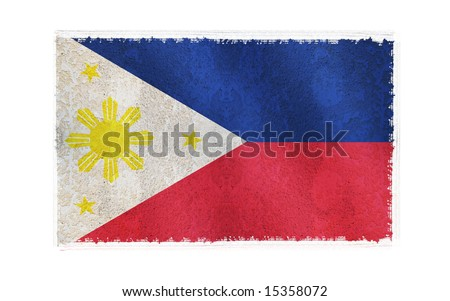 philippine flag wallpaper. stock photo : Flag of