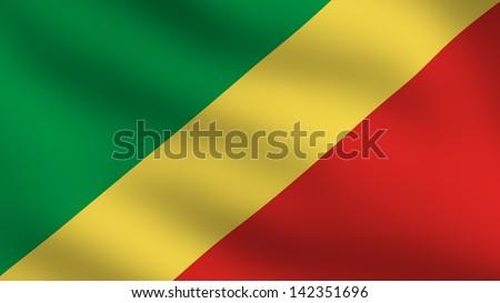 Flag of Republic of the Congo