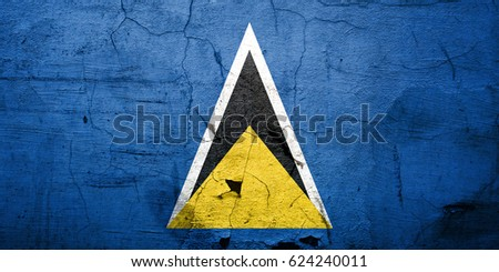 Flag of Saint Lucia #624240011