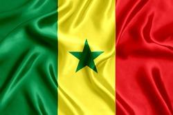 Flag of Senegal Silk