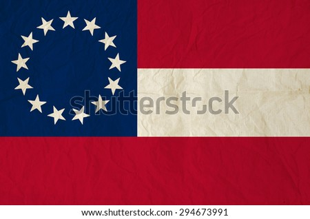 flag of the confederate states...