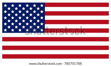 Flag of the United States of America. . #780701788