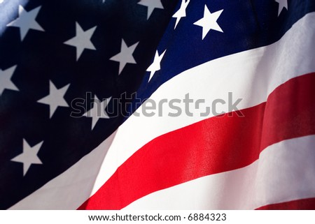 Flag of the Unites States of America