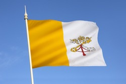 Flag of the Vatican City - adopted in June 1929, the year Pope Pius XI signed the Lateran Treaty with Italy, creating a new independent state within Italy, governed by the Holy See.