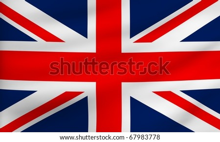Flag of UK.