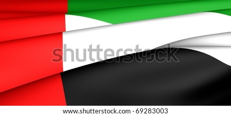 Flag of United Arab Emirates.