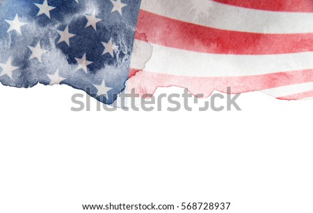 Flag of USA #568728937