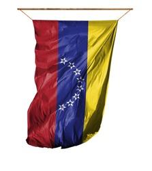 Flag of Venezuela. Isolated on a white background.