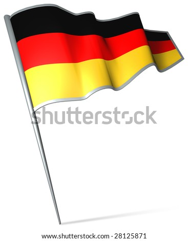 Flag pin - Germany