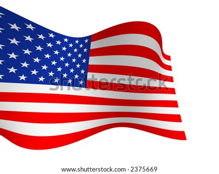 Flag the USA