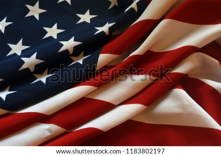 Flag USA background #1183802197