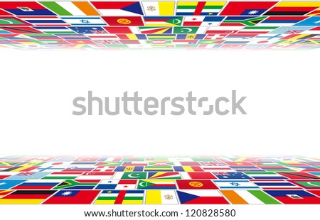 Flags in perspective
