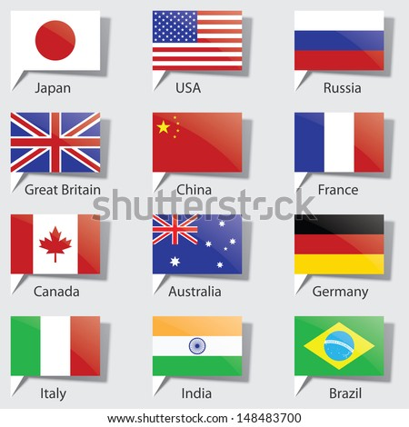 flags of the states vector