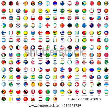 Flags of the world #254298739