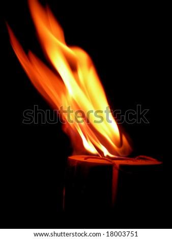 flame Photo stock ©