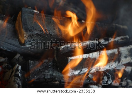 flame, fire, effect, campfire, black, motion, close-up, red, burning