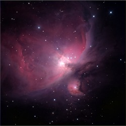Flame Nebula, near Orion