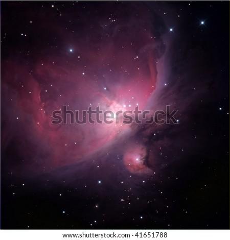 Flame Nebula, near Orion