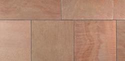 Flamed  Autumn Bronze Multicolor Sandstone Paving Seamless Texture