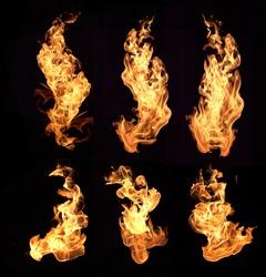 Flames / fire