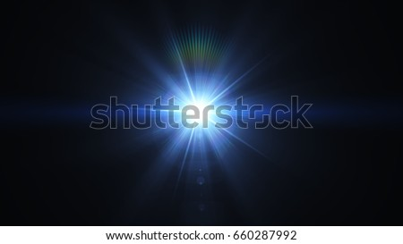 Photo of  Flare Light overlays on black background.