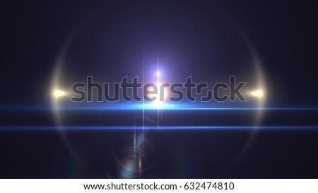 Photo of  Flare Light transition, lens flare, light leaks, overlays
