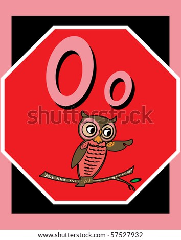 Objects Starts with Letter O http://www.shutterstock.com/pic-57527932/stock-photo-flash-card-letter-o-nouns-there-is-one-for-each-letter-there-are-two-objects-beginning-with-each.html