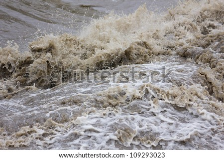 flash flood Stock photo ©