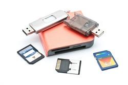 Flash memory and reader