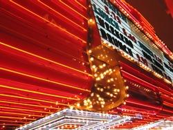 Flashing Neon Signs of Casino