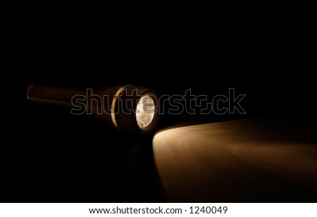 Flashlight in the Darkness.