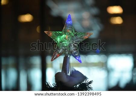 Flashy Star, Glittering Star, Chrimas Star  #1392398495