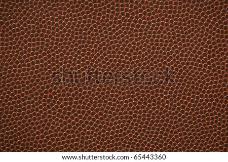 Flat American football texture.