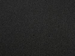 flat black foam rubber sponge texture and background