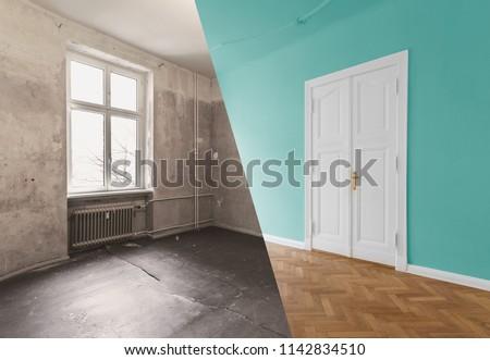 flat renovation, apartment refurbishment, room modernization