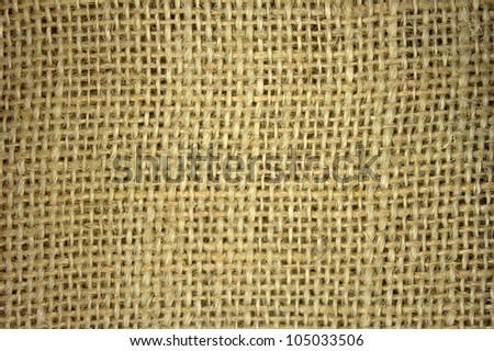 Flax burlap texture background
