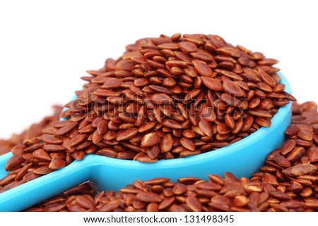Flax or edible tisi seeds