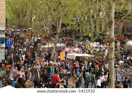Flea market rastro, madrid