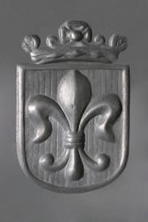 Fleur-de-Lis - Pewter Royal Coat of Arms