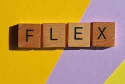 Flex, teen slang buzzword, the new way to say Show Off