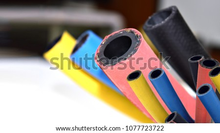 Flexible rubber cable cover , rubber products .
