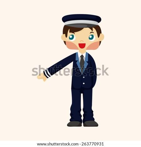 flight captain theme elements