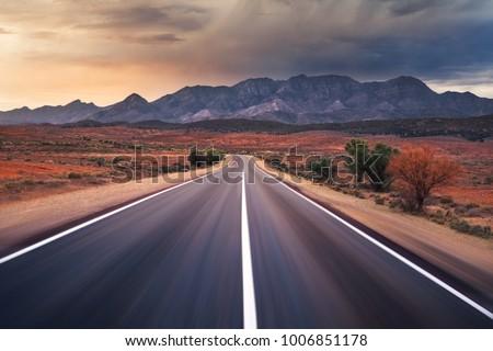 Flinders Ranges in outback Australia #1006851178